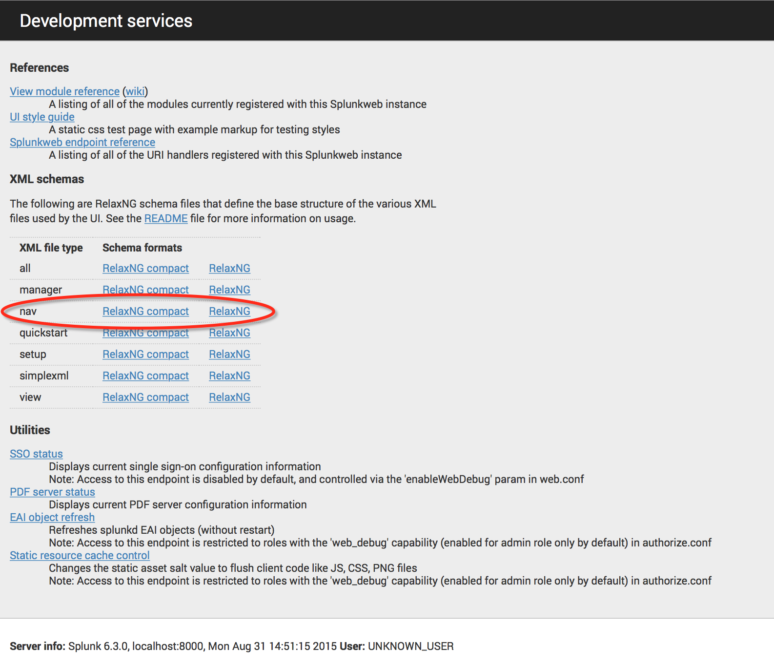 Deployment Services page